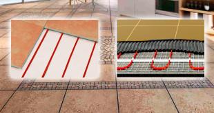 Электрические теплые полы и их сочетаемость с плиточным покрытием