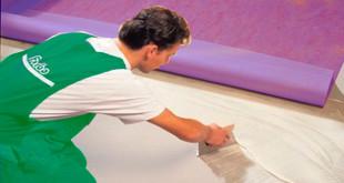 настил линолеума на бетонный пол