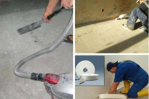 Как лучше выровнять пол сразу наливной или сначала цемент