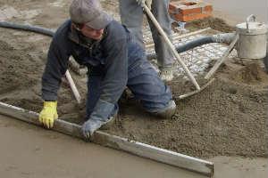 утепление бетонного пола пенополистиролом под стяжку