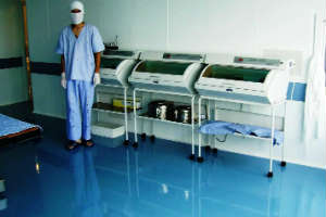 полиуретановые полы гигиеничное покрытие