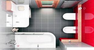 Какая плитка подойдет для маленькой ванной