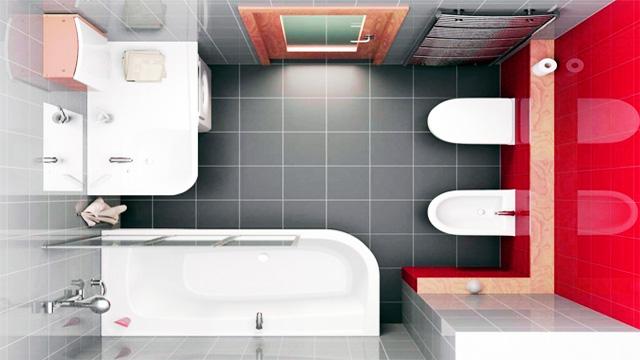 Как подобрать облицовочную плитку для маленькой ванной