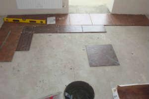 технология укладки плитки на кухне