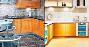 Укладка керамической плитки на кухне: схемы и технология